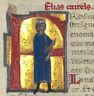 Elias Cairel - Elias Cairel from a 13th-century chansonnier