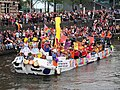 Boat 76 Roze Zaterdag 2018 - Gouda, Canal Parade Amsterdam 2017 foto 1.JPG