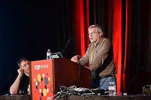Bob Bates - Bates presenting at the 2015 Game Developers Conference