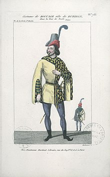 Bocage as Buridan (Tour de Nesle).jpg