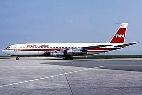 トランス・ワールド航空のボーイング707-300