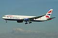 Boeing 767-336ER G-BNWR British Airways (6912269012).jpg