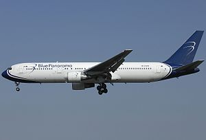 Blue Panorama Airlines - Blue Panorama Boeing 767-300ER