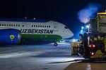 Boeing 787 Dreamliner at Riga Airport (32119238920).jpg
