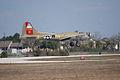 Boeing B-17G-85-DL Flying Fortress Nine-O-Nine Landing Approach 13 CFatKAM 09Feb2011 (14797378367).jpg
