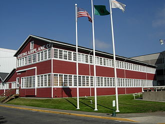 Museum of Flight - The Red Barn, Boeing's original manufacturing plant