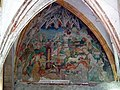 Bolzano, Chiesa dei Domenicani, frescos in the cloister 002.JPG
