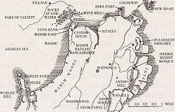 Bombay map 18c