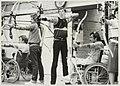 Boogschutters van de Zandvoortse sportclub Unicum '73 op de handboogschietbaan. NL-HlmNHA 54013132.JPG