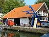 foto van Vm. botenhuis bij de watersporthaven