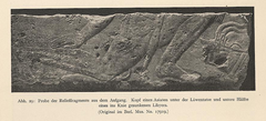 Photograph of a relief fragment