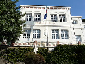 Town hall of Bordighera - The Town hall of Bordighera
