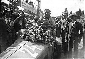 Boris Ivanowski - Ivanowski (driving) and Attilio Marinoni, who won the 24 Hours of Spa in 1928.
