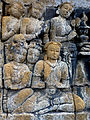Borobudur - Lalitavistara - 113 E, The Buddha is entertained by Kandha (detail 1) (11248679814).jpg