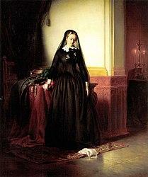 József Borsos: The Widow