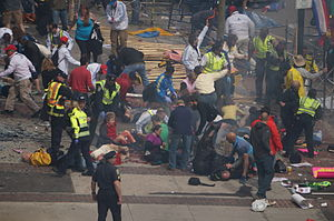 Terrorism in the United States - Boston Marathon bombings on April 15, 2013