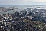 Boston and Boston Harbor aerial.JPG