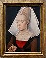 Bottega di rogier van der weyden, ritratto di donna, 1460 ca.jpg