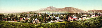 Boulder, Colorado - Panorama print of Boulder, 1900