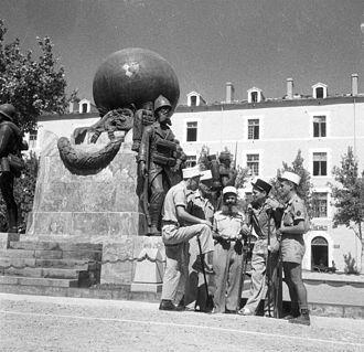 1st Foreign Regiment - Image: Boule Algerie