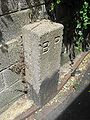 Boundary stone at Boundary Passage (South end at Western Road), Brighton (IoE Code 479494).jpg