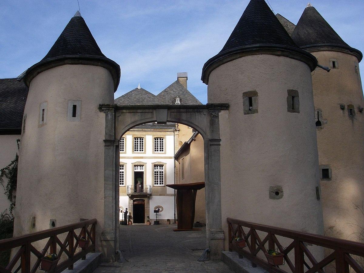 Resultado de imagen de Luxemburgo Castillo de bourglinster