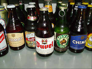 Glass bottle - Various beer bottles