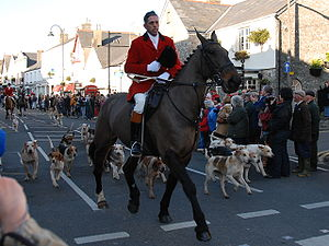 Cowbridge -  Boxing Day Hunt in Cowbridge