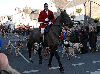 Cowbridge -  Boxing Day Hunt in Cowbridge