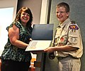 Boy Scouts receive awards for care packages DVIDS485508.jpg