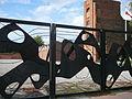 Brama do muzeum na Radogoszczu.JPG
