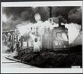 Branden, trams, Rotterdam, Churchillplein, lijn 6, Bestanddeelnr 123-0061.jpg