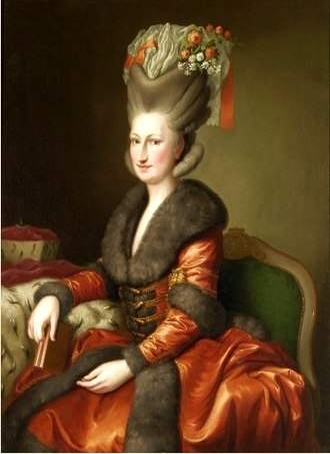 Countess Palatine Maria Franziska of Sulzbach - Image: Brandt Maria Amalie Auguste