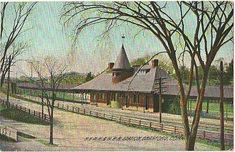 Branford station - Branford station around 1910