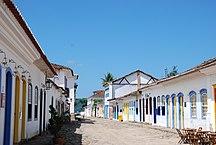 Paraty-Bairros-Brazil paraty wide street