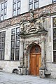 Bremen, the door of the Gewerbehaus.JPG