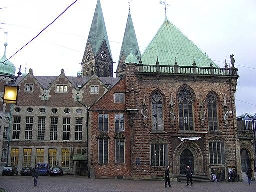 Bremer Rathaus Nordwestfassaden