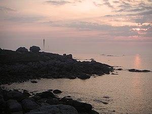 Plouguerneau - Sunset at Plouguerneau