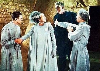Frankenstein (1931 film) - Image: Brideof Frankenstein 13B