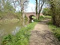 Bridge over Wey Arun Canal near Brewhurst Mill - geograph.org.uk - 1026528.jpg