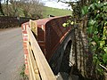 Bridge over disused railway, Trusham - geograph.org.uk - 1215543.jpg