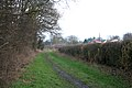 Bridleway off Rectory Road, Wanlip near Leicester - geograph.org.uk - 127502.jpg