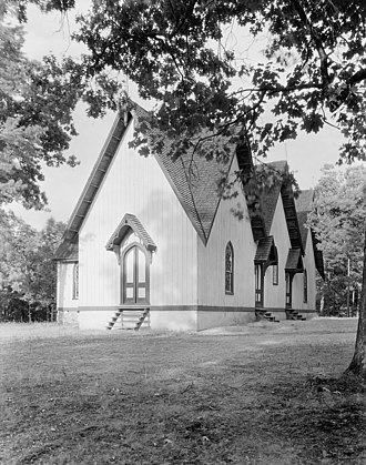 National Register of Historic Places listings in Prince Edward County, Virginia - Image: Briery Church Prince Edward County Virginia by Frances Benjamin Johnston