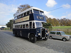Bristol Omnibus Company - Preserved Bristol K6G on the Isle of Wight in October 2011