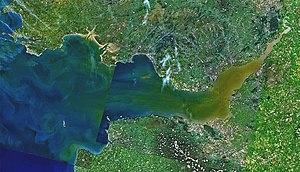 Landsat 7 image of the Bristol Channel