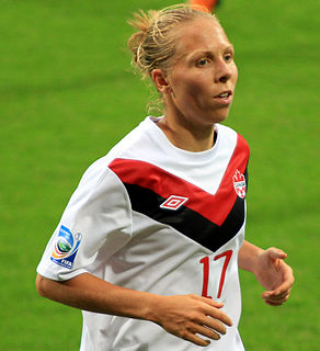 Brittany Baxter Canadian soccer player