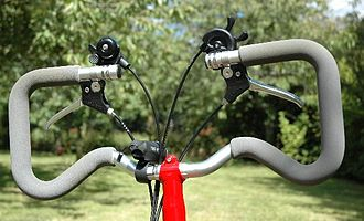 Brompton Bicycle - P handlebar