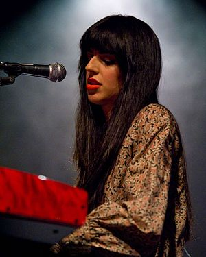 Brooke Fraser - Fraser performing at The Triple Door in Seattle, 2010.