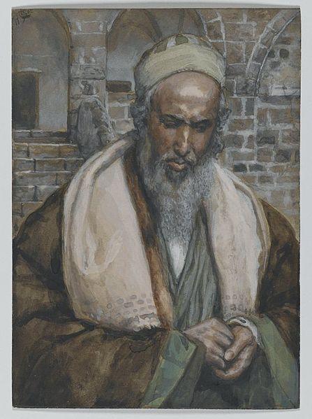 Saint Luke by James Tissot, c. 1886-1894 (Wikimedia Commons)