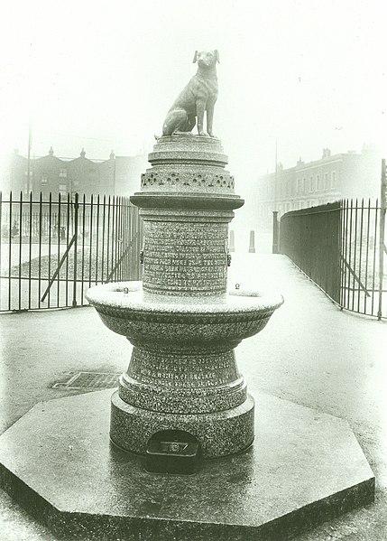 File:Brown Dog statue by Joseph Whitehead, Battersea, London.jpg